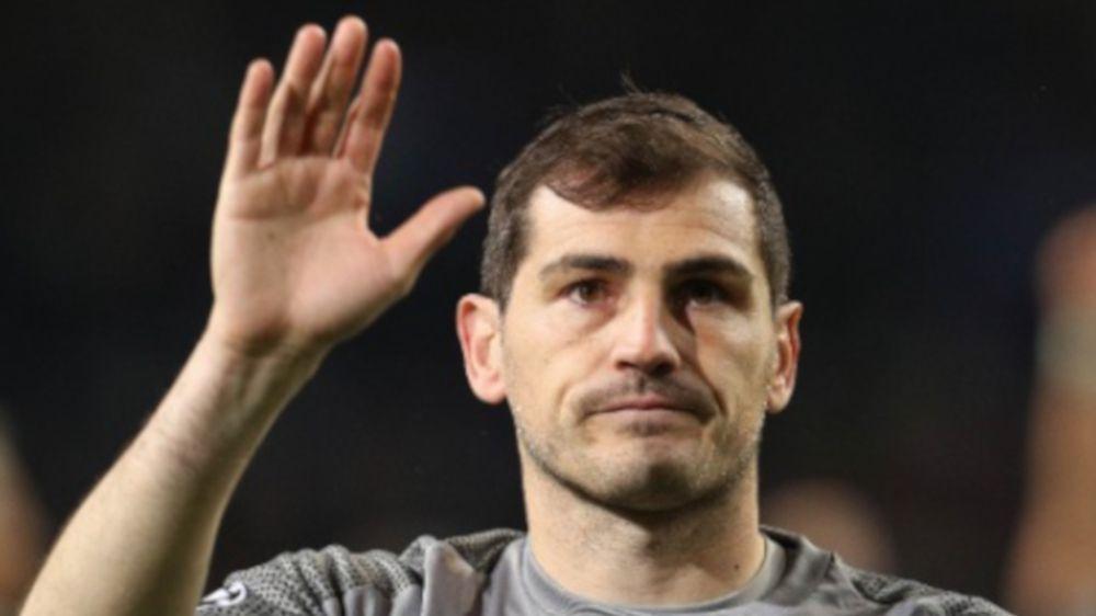 Nach Herzinfarkt:Torwart-Legende Iker Casillas ist außer Lebensgefahr