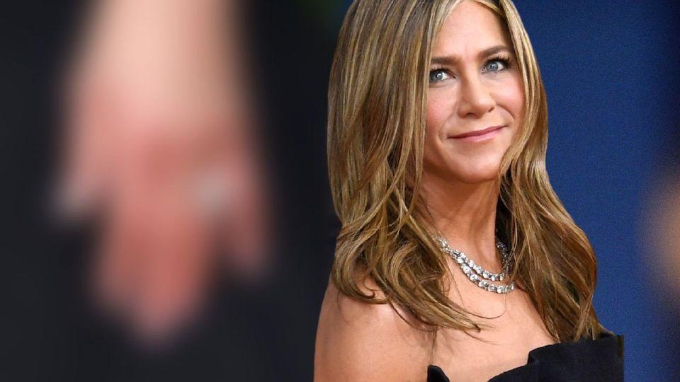 Jennifer Aniston - Funkelnder Diamantring sorgt für Getuschel