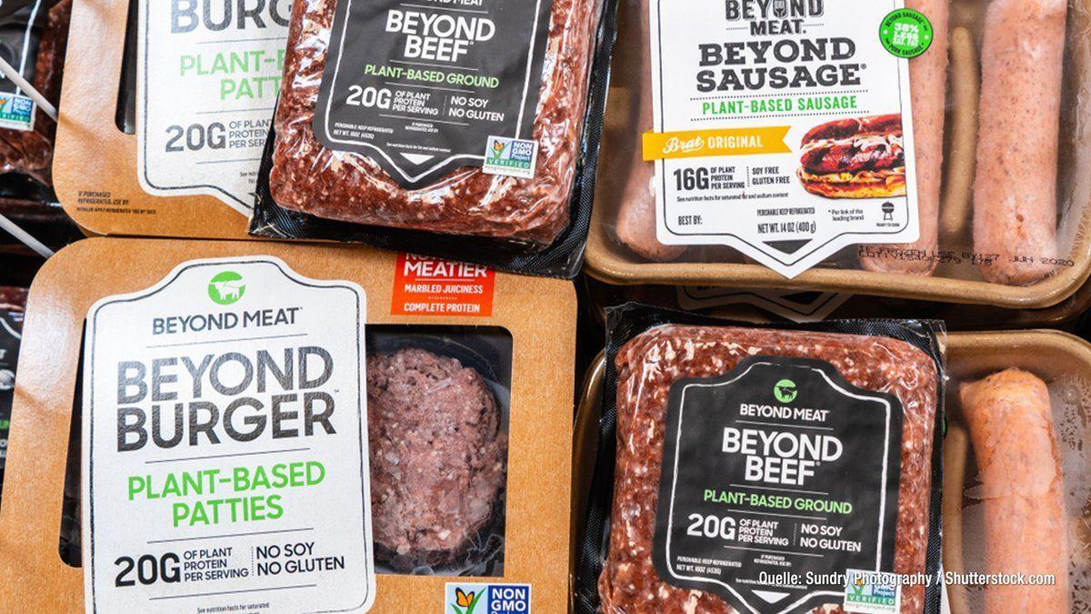 Produktion steigt: Anstieg veganer & vegetarischer Lebensmittel