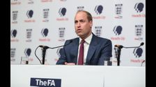 Prince William calls for the 'soul' of football to be protected