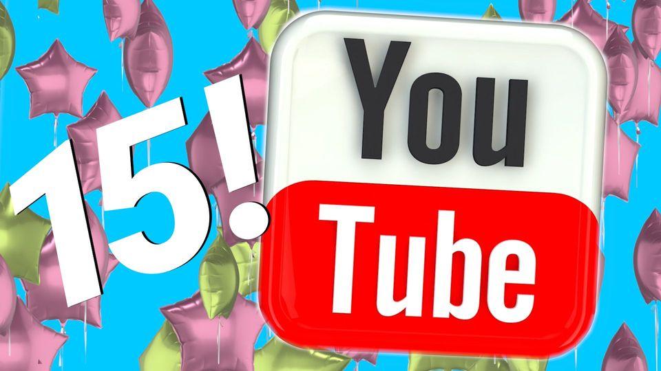 15 Jahre YouTube: Die Erfolgsgeschichte der Videoplattform