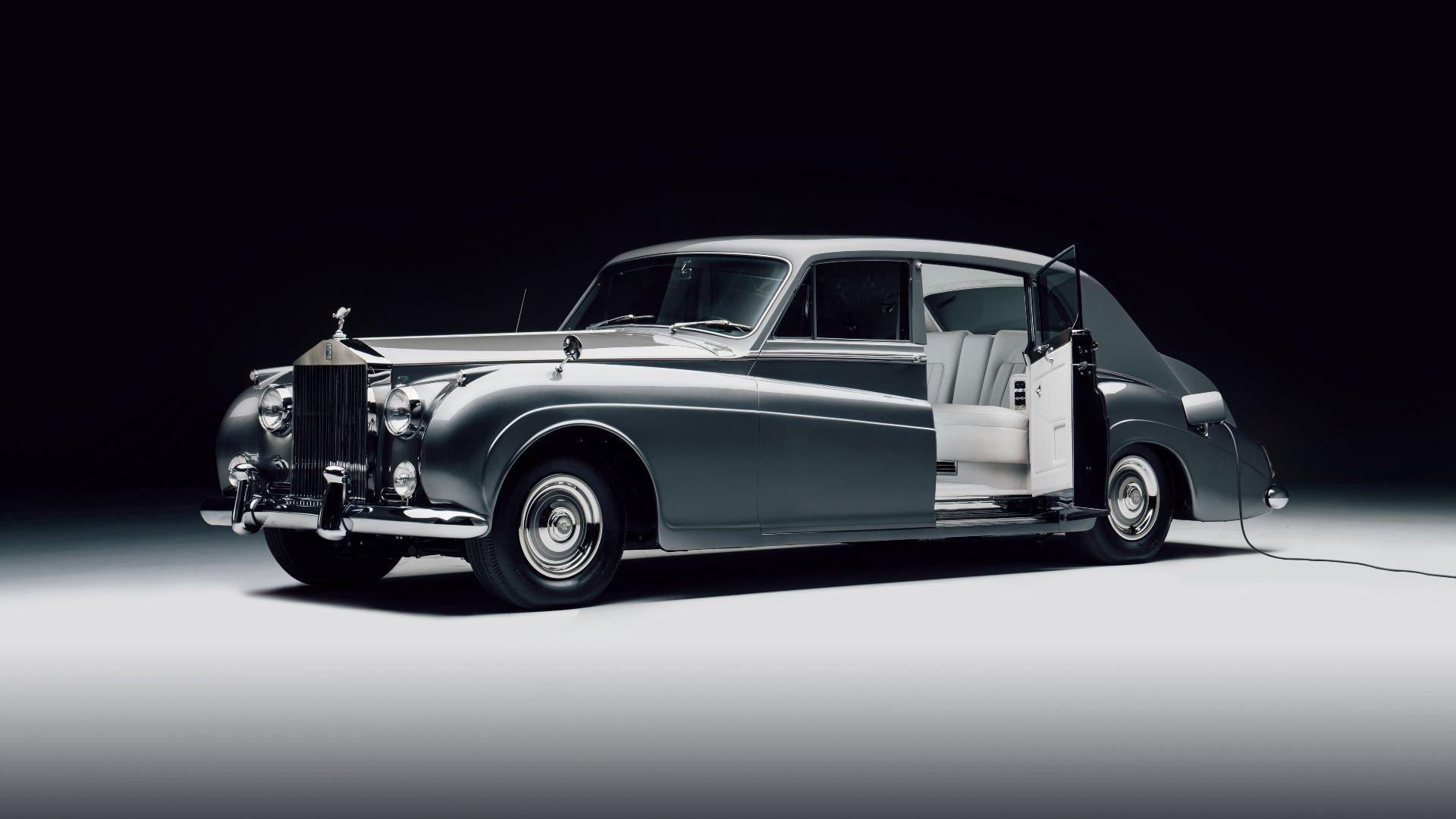 Klassiker unter Strom: Rolls Royce bald auch elektrisch