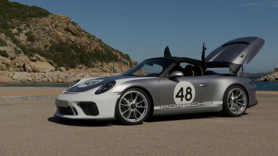 Porsche 911 Speedster GT Heritage Design-Package Exterior Design