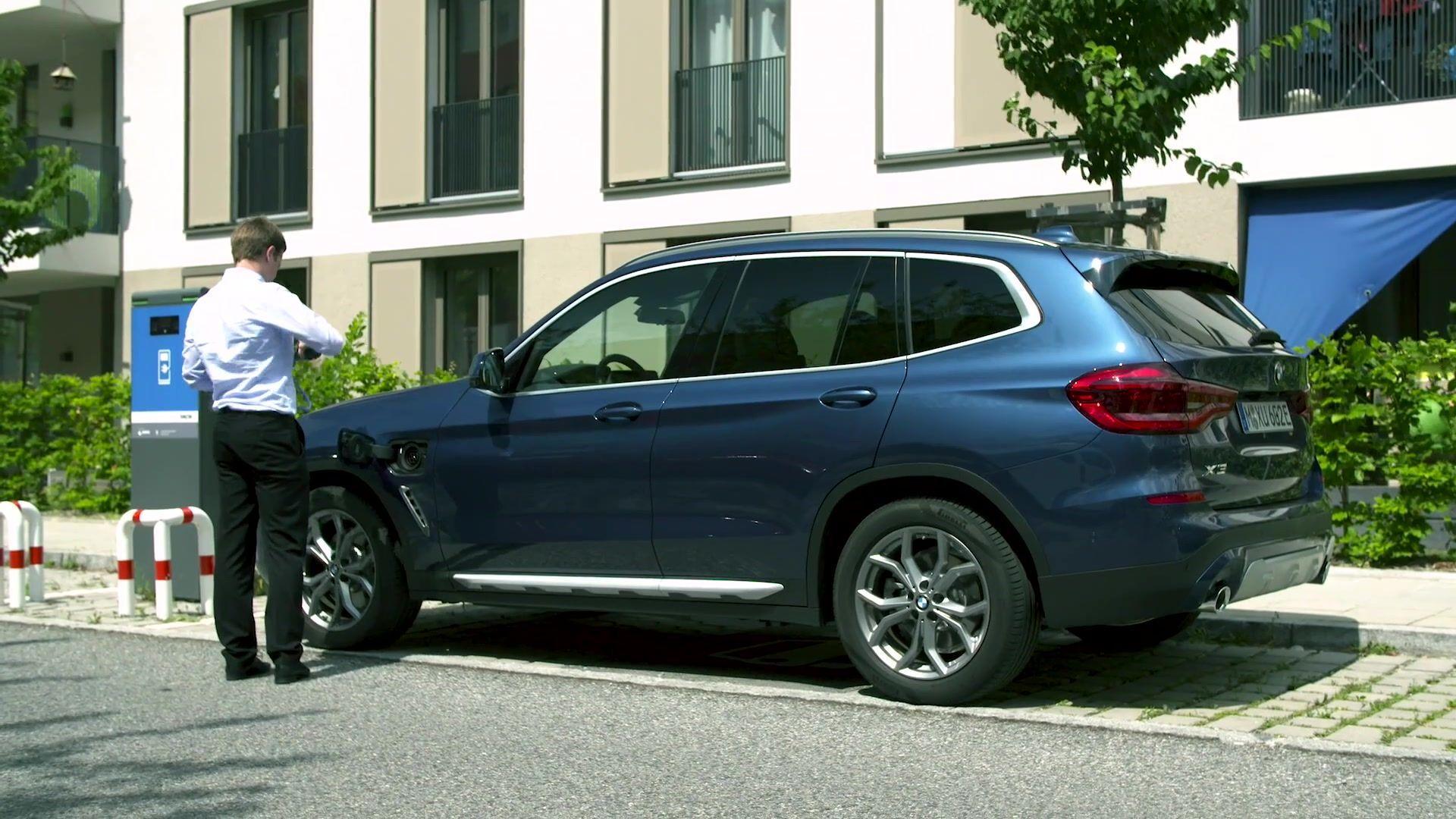 Der neue BMW X3 xDrive30e – Hochvoltspeicher mit neuester Batteriezellen-Technologie für maximale Effizienz