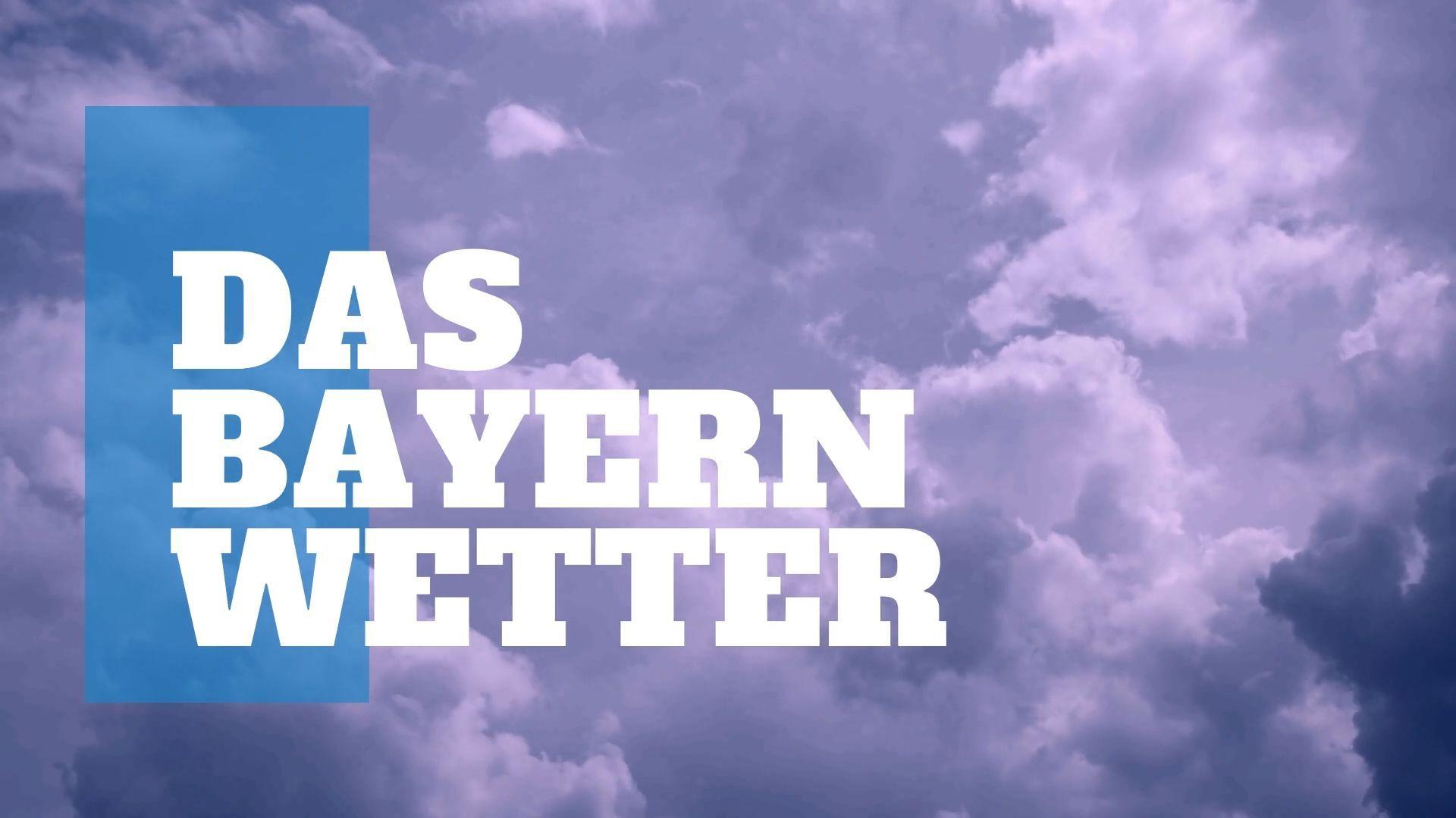 Das Bayern-Wetter: Erst Schnee und Kälte doch in der neuen Woche wird es wärmer