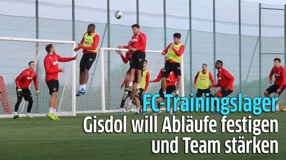 1. FC Köln im Trainingslager: Abläufe festigen und Team stärken