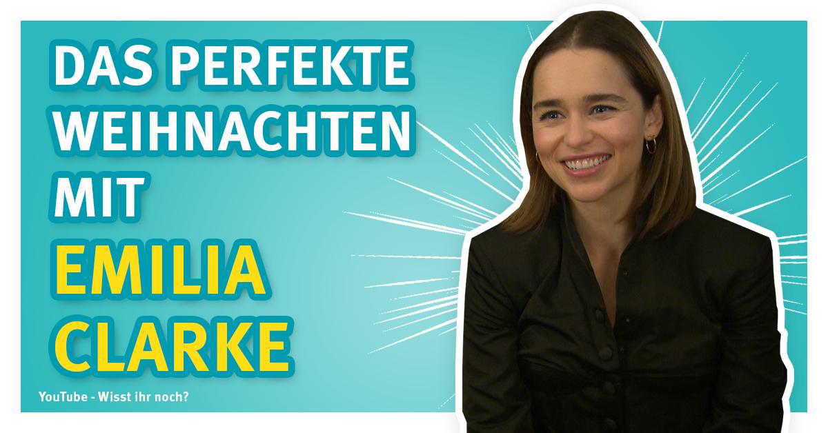 Emilia Clarke - Das perfekte Weihnachten