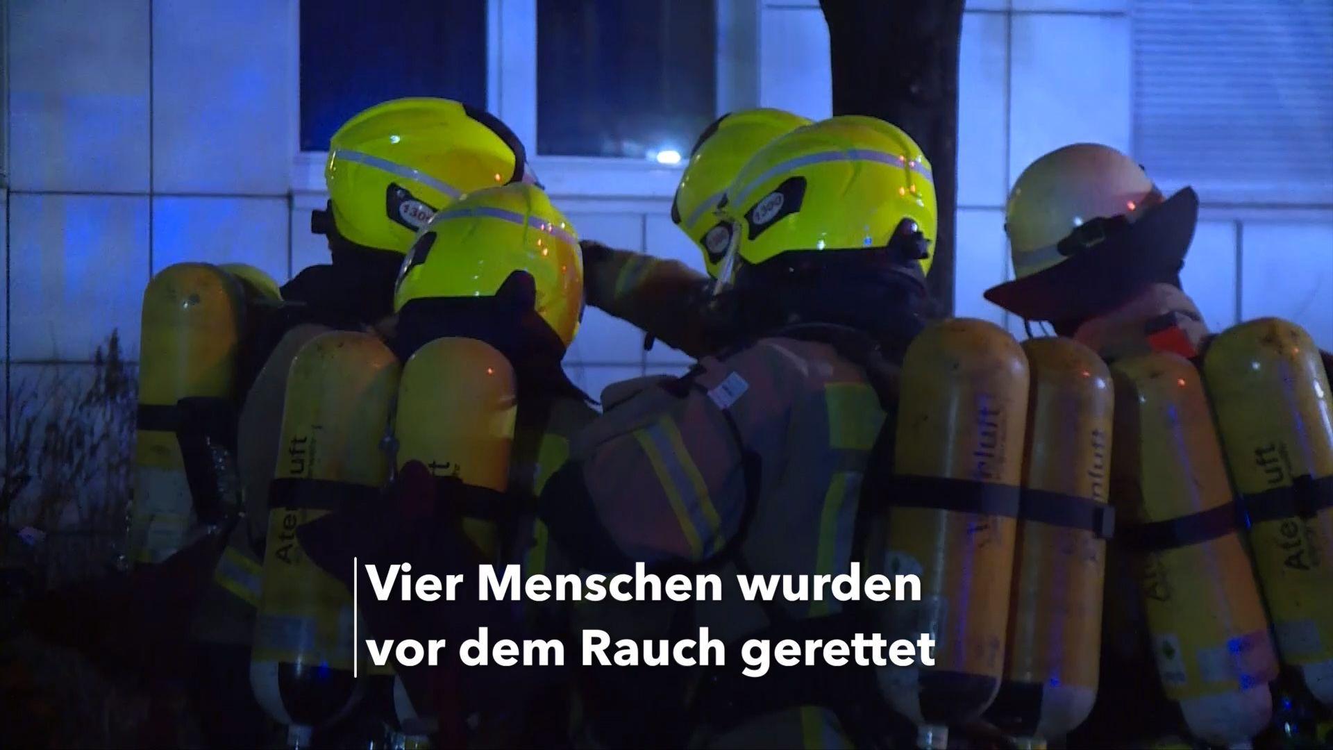 Kellerbrand in Berliner Hochhaus löst Großeinsatz aus