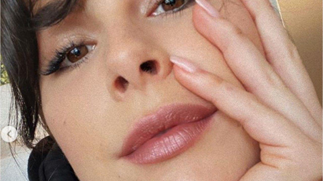 Lena Meyer-Landrut: Selfie mit sinnlichem Schmollmund