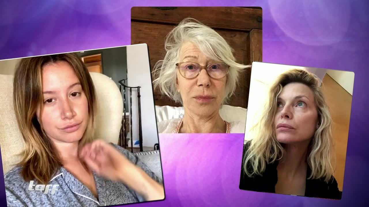 Ungeschminkte Promis: So sehen die Stars ohne Make Up aus