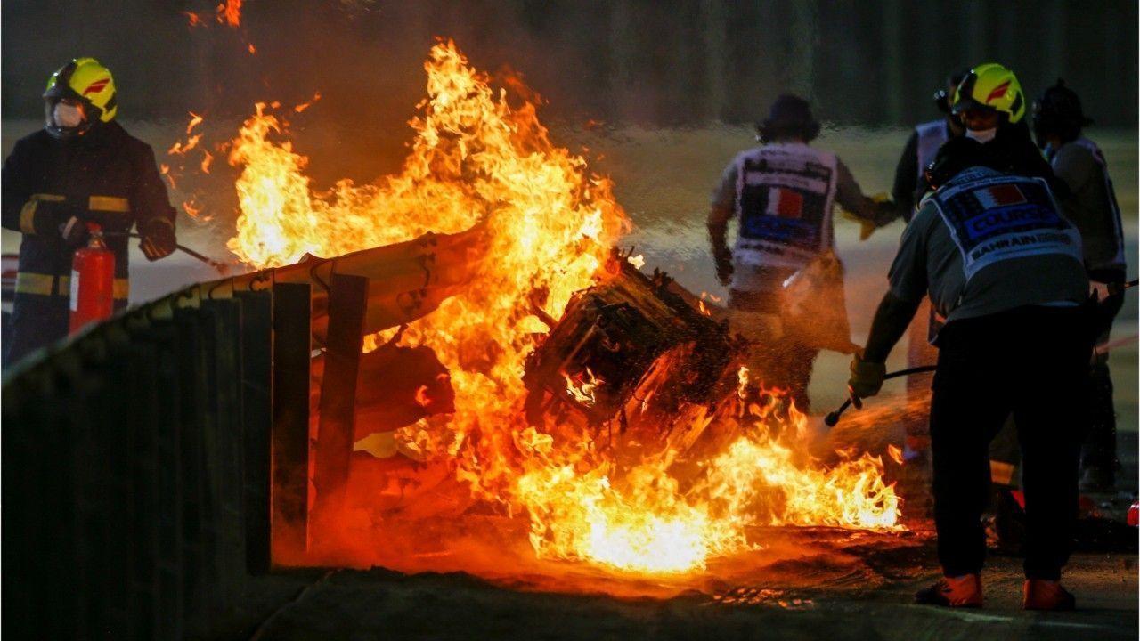 """""""Schrecklich"""": Horror-Crash in der Formel 1 überschattet Hamilton-Sieg"""