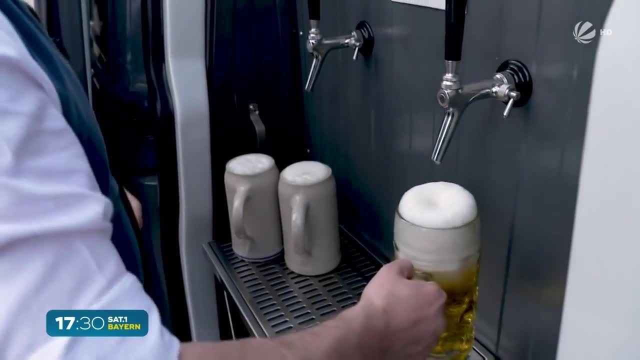 Brauereien in Bayern: 100 Millionen Maß Bier weniger verkauft