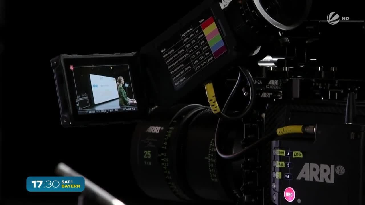 Zukunft des Films? Bavaria Filmstudios mit High-Tech-Technik
