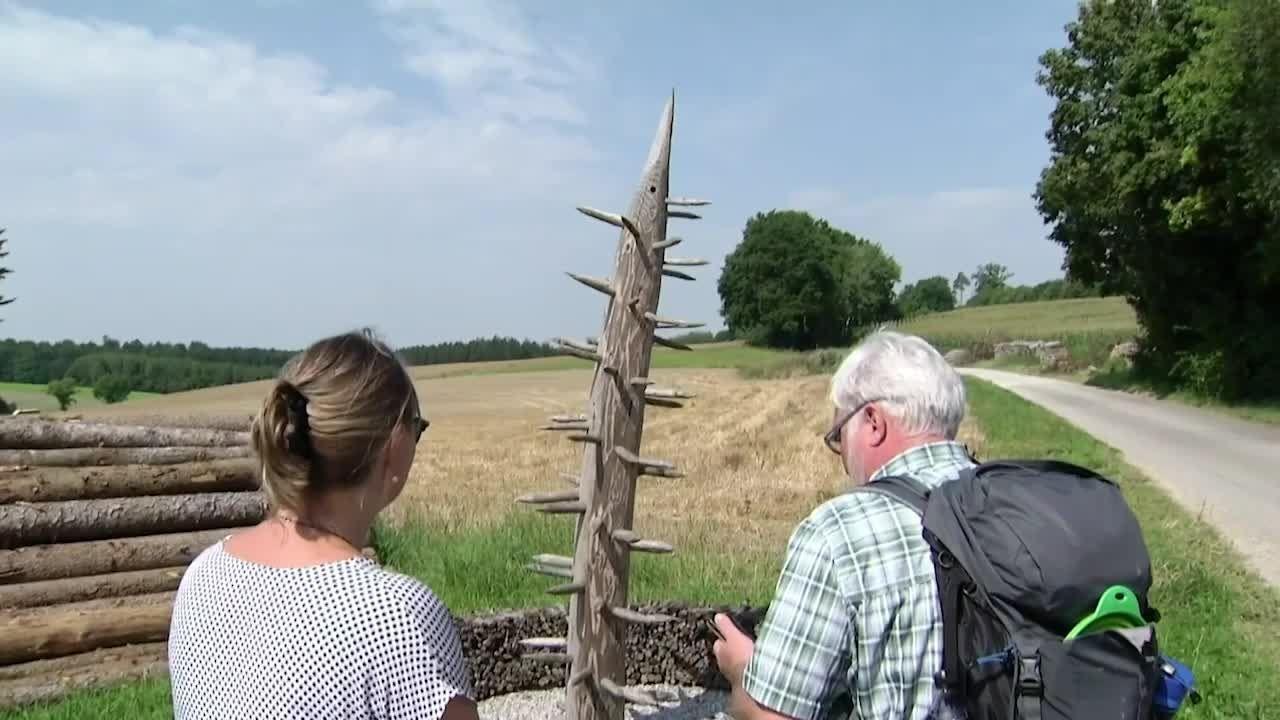 Mein Sommer in Bayern: Kunst-Wanderung durch den Naturpark Augsburg